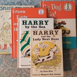 5 Vintage Children's books